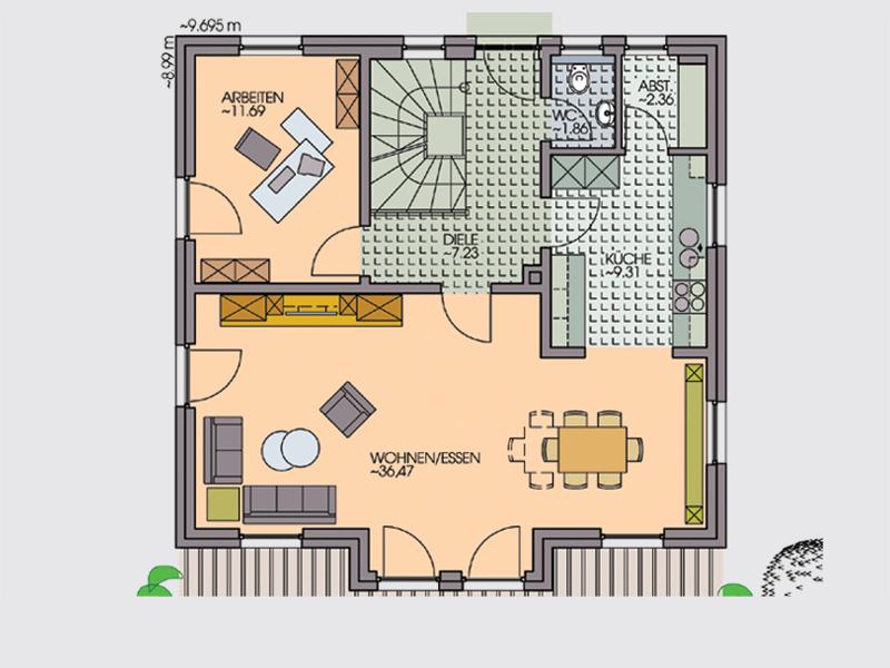 einfamilienhaus bach iii keller als wei e wanne zu ihrer sicherheit klebl hausbau. Black Bedroom Furniture Sets. Home Design Ideas